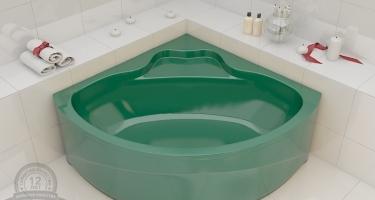 Выбираем цветные комплекты: ванна, раковина и унитаз